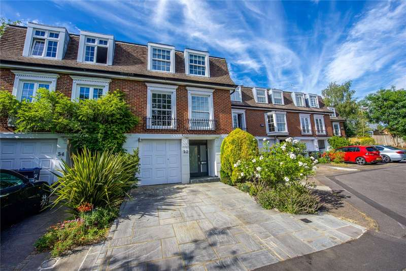 4 Bedrooms Terraced House for sale in Cottenham Park Road, London, SW20