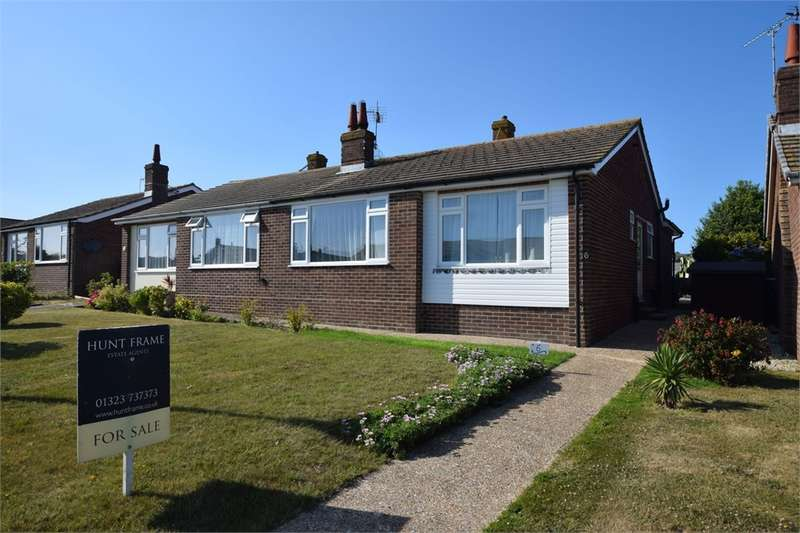 2 Bedrooms Semi Detached Bungalow for sale in The Linkway, Westham