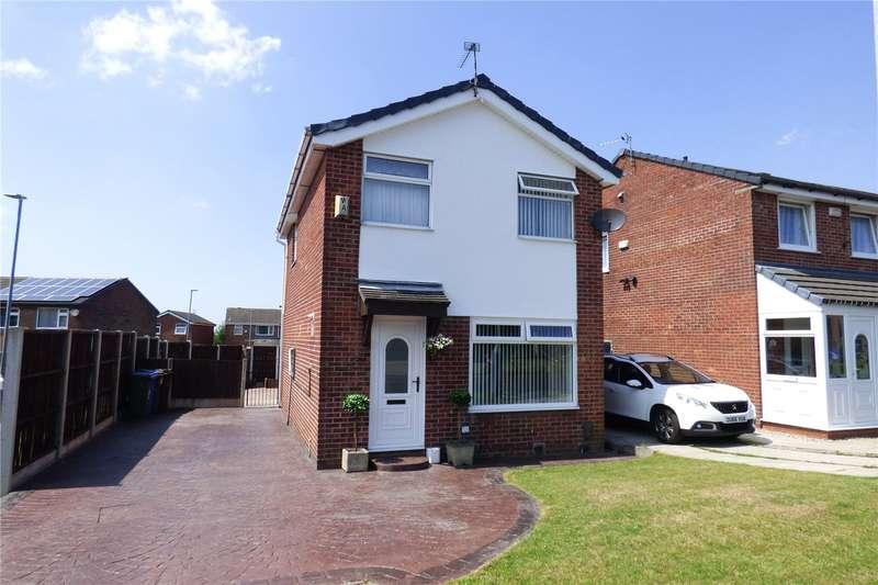 3 Bedrooms Detached House for sale in Marsden Close, Ashton-under-Lyne, Greater Manchester, OL7