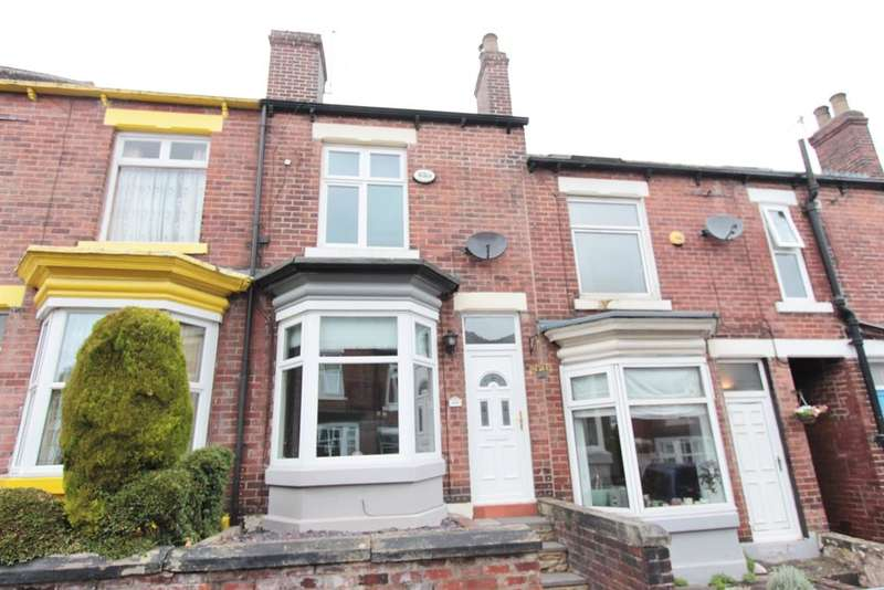 3 Bedrooms Terraced House for sale in Everton Road, Sheffield, S11 8RY