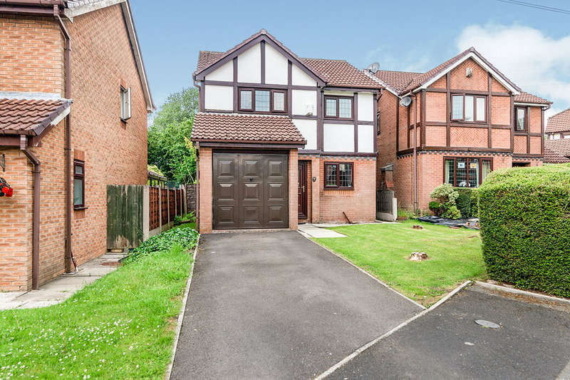 3 Bedrooms Detached House for sale in Tiverton Close, Radcliffe, M26