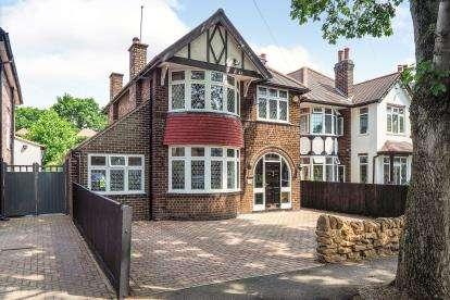 4 Bedrooms Detached House for sale in Harrow Road, Nottingham, Nottinghamshire