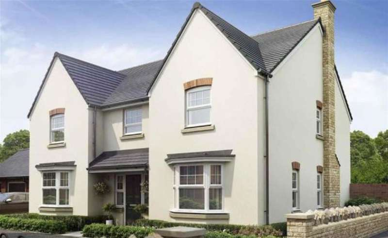 5 Bedrooms Detached House for sale in The Mappleton, Kingswood Gate, Monmouth