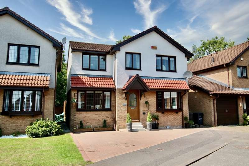 4 Bedrooms Detached Villa House for sale in Duncryne Place, Bishopbriggs, G64 2DP