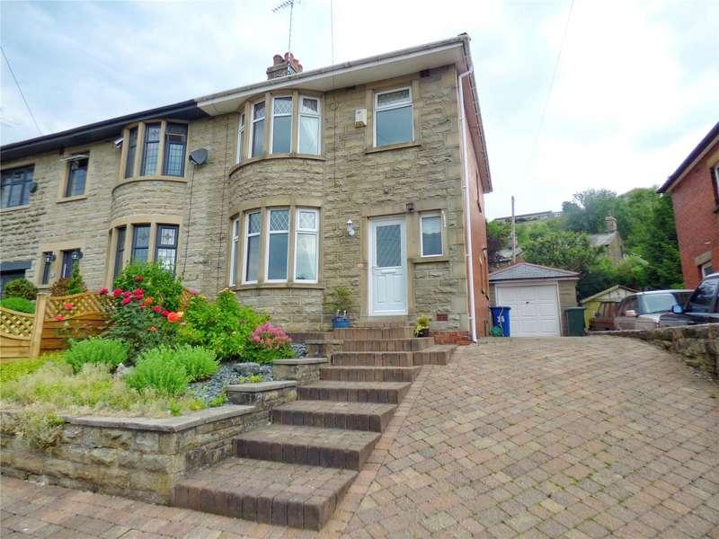 3 Bedrooms Semi Detached House for sale in Rockcliffe Avenue, Bacup, Lancashire, OL13