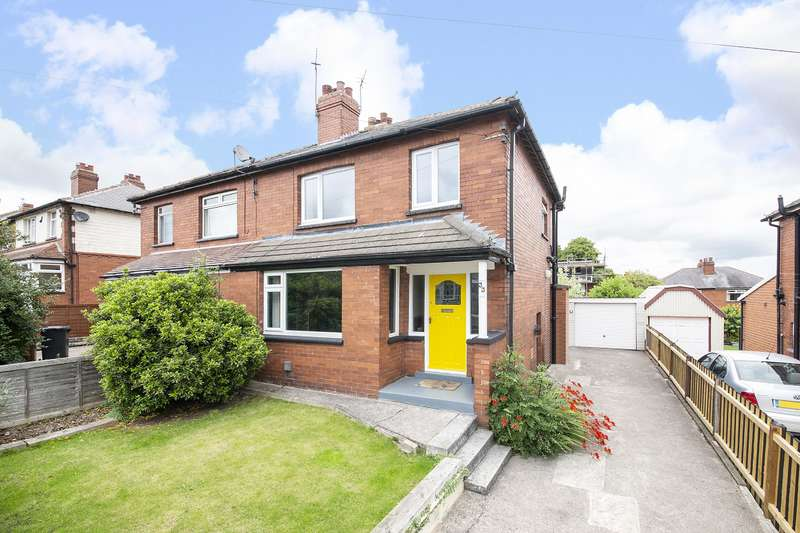 3 Bedrooms Semi Detached House for sale in Gipton Wood Place, Oakwood, Leeds, LS8 2SD