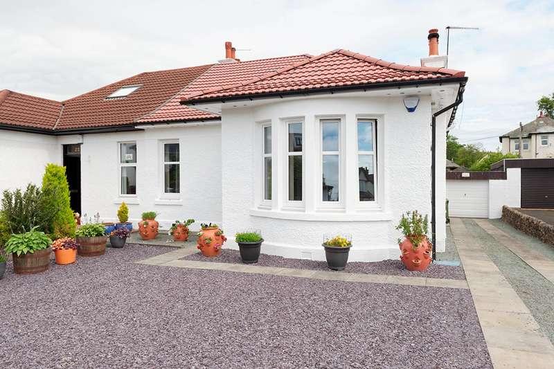4 Bedrooms Semi Detached Bungalow for sale in Lanfine Road, Ralston, Paisley, PA1 3NJ