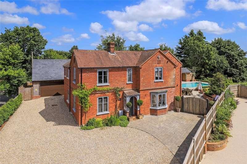 5 Bedrooms Detached House for sale in Romsey Road, Whiteparish, Salisbury, Wiltshire, SP5