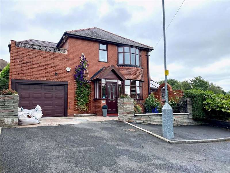 4 Bedrooms Detached House for sale in Dale View, Denton, Manchester