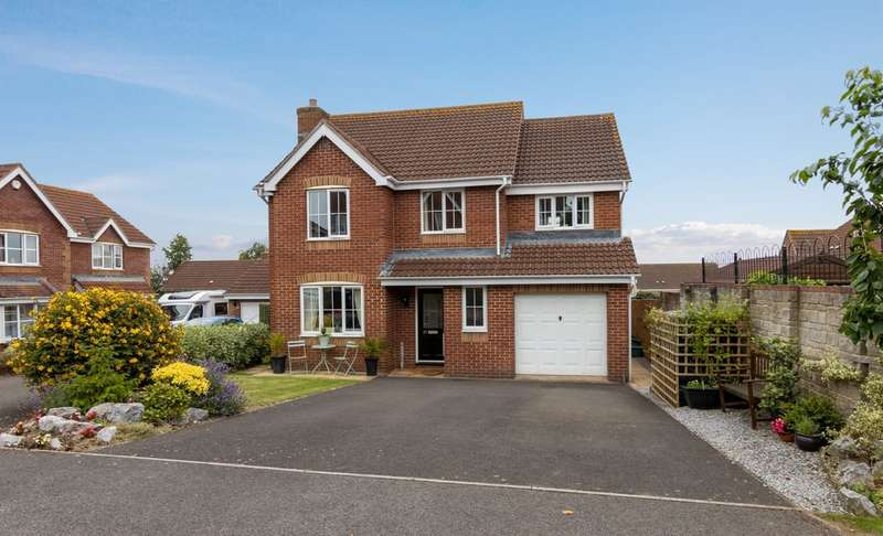 5 Bedrooms Detached House for sale in Nursery Close, Combwich, Bridgwater