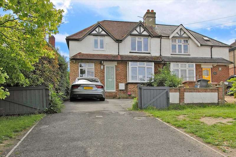 4 Bedrooms Semi Detached House for sale in Salisbury Road, Andover