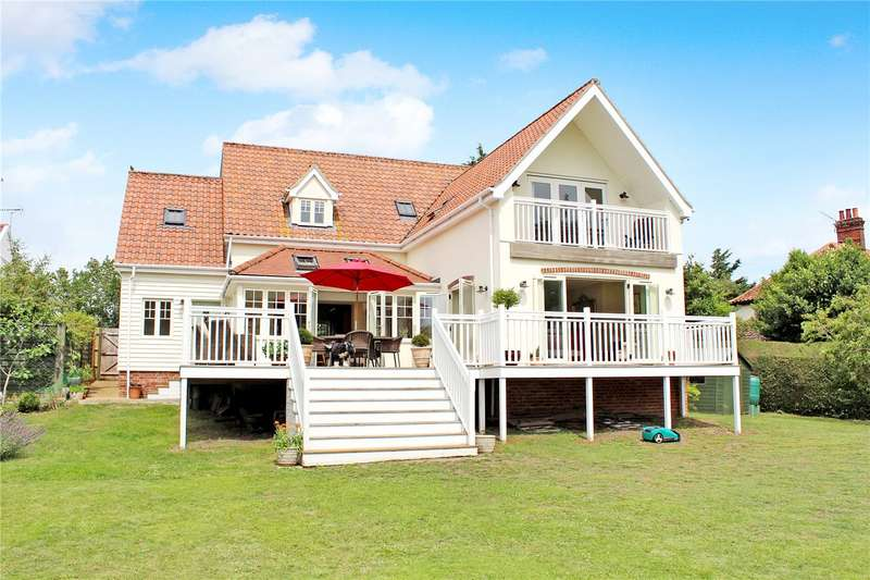 4 Bedrooms Detached House for sale in Southwold Road, Blyford, Halesworth, Suffolk, IP19