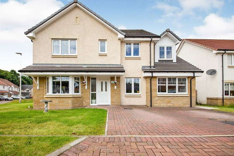 5 Bedrooms Detached House for sale in The Cormorant, Alloa, FK10