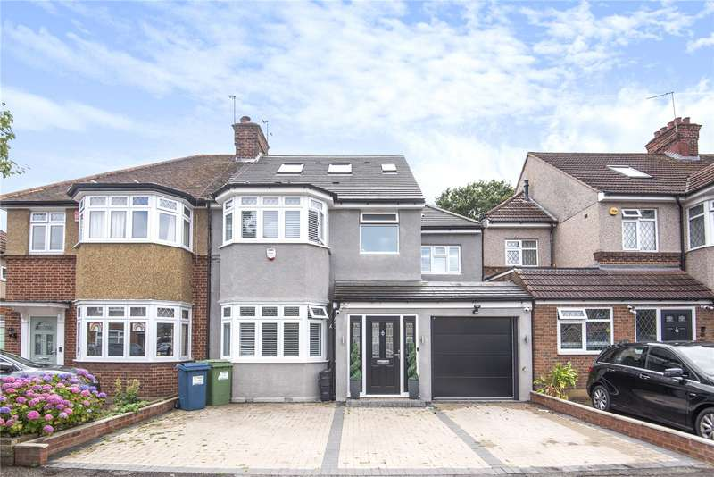 4 Bedrooms Semi Detached House for sale in Holmdene Avenue, Harrow, Middlesex, HA2