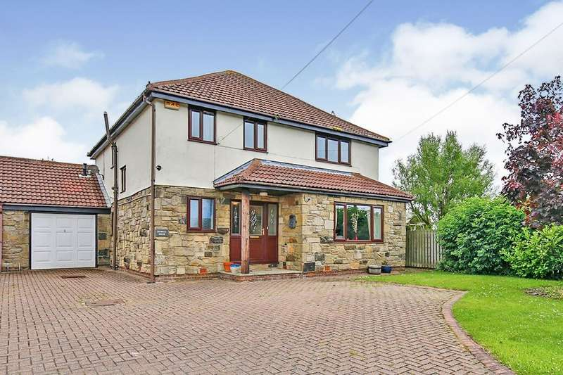 4 Bedrooms Detached House for sale in Fines Road, Consett, DH8