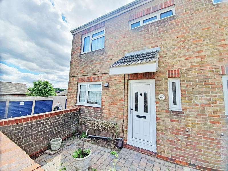 3 Bedrooms End Of Terrace House for sale in Ryde Close, Chatham