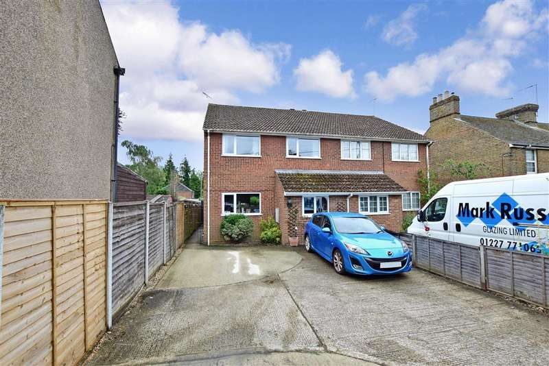 3 Bedrooms Semi Detached House for sale in Island Road, , Sturry, Canterbury, Kent