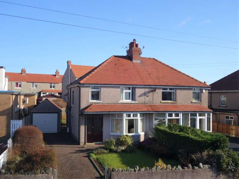 3 Bedrooms Semi Detached House for sale in Lancaster Road, Morecambe
