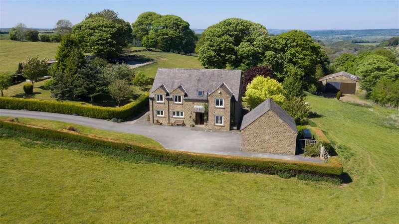 4 Bedrooms Detached House for sale in Winster Lane, Elton, Matlock, Derbyshire + 38 Acres + Outbuildings