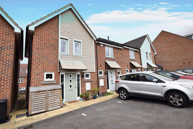 3 Bedrooms End Of Terrace House for sale in Marnel Park, Basingstoke, RG24