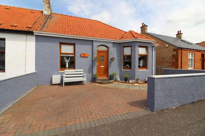 3 Bedrooms Semi Detached Bungalow for sale in Berelands Road, Prestwick, KA9
