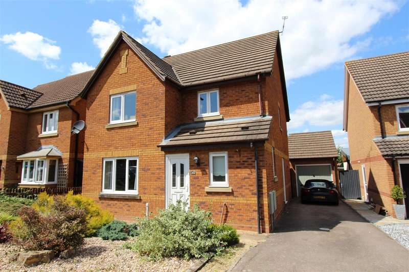 4 Bedrooms Detached House for sale in Watergall Close, Southam