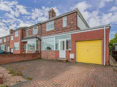 3 Bedrooms Semi Detached House for sale in Vernon Road, Broom, Rotherham