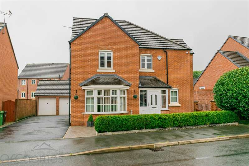 4 Bedrooms Detached House for sale in Gibfield Drive, Atherton, Manchester