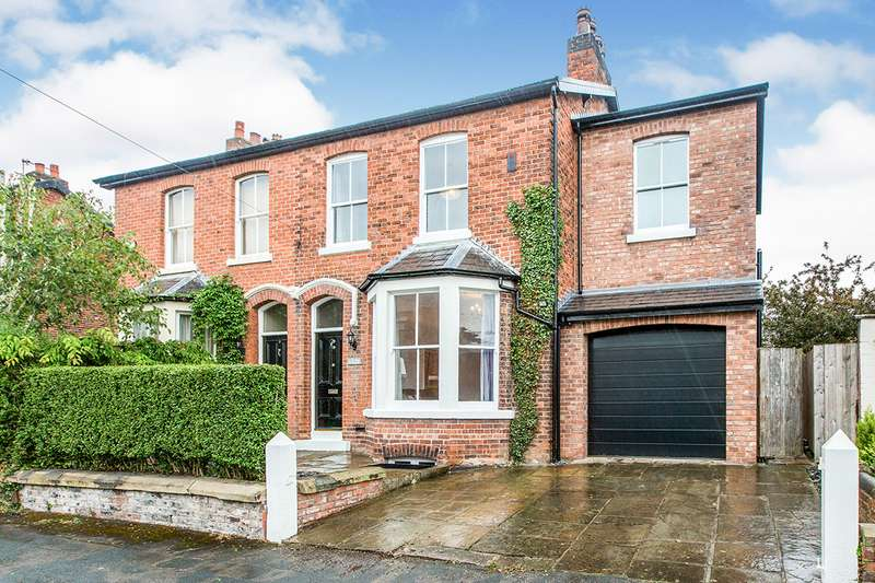 4 Bedrooms Semi Detached House for sale in Victoria Parade, Ashton-on-Ribble, Preston, Lancashire, PR2