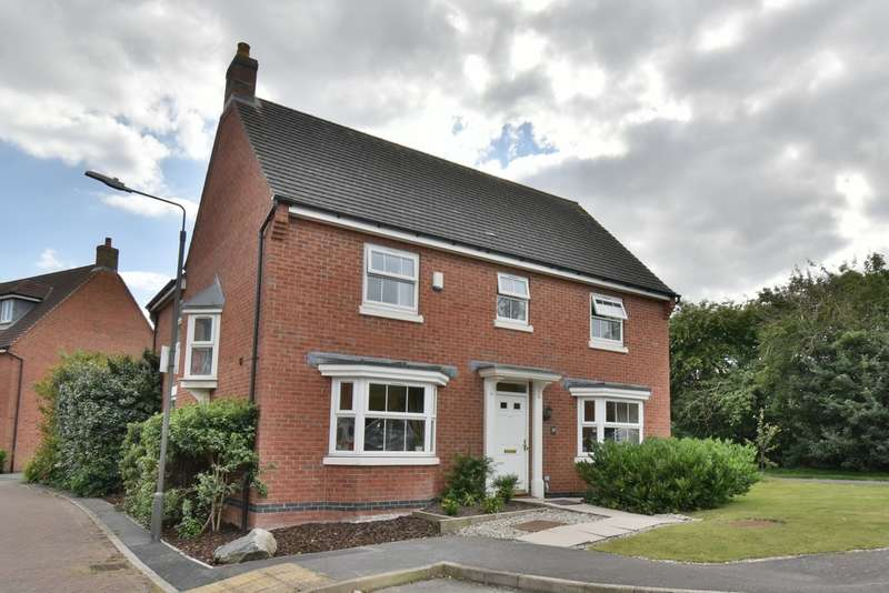 4 Bedrooms Detached House for sale in Anglia Drive, Church Gresley
