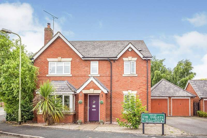 4 Bedrooms Detached House for sale in The Quillets, Ruyton Xi Towns, Shrewsbury, Shropshire, SY4