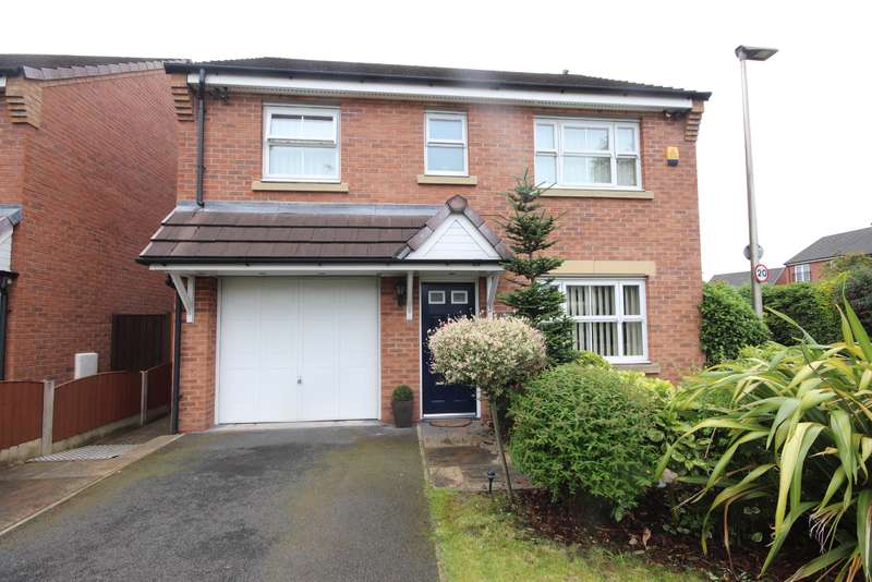 4 Bedrooms Detached House for sale in Redfield Croft, Leigh, WN7 1EN