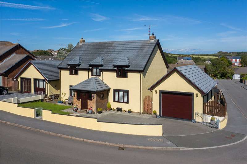 4 Bedrooms Detached House for sale in Sheffield Drive, Steynton, Milford Haven