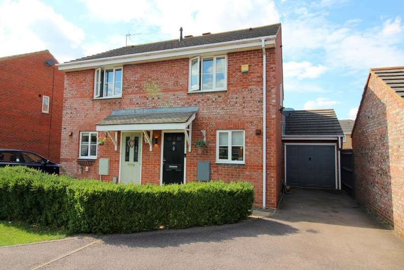 2 Bedrooms Semi Detached House for sale in Coopers Way, Houghton Regis, Bedfordshire, LU5 5US