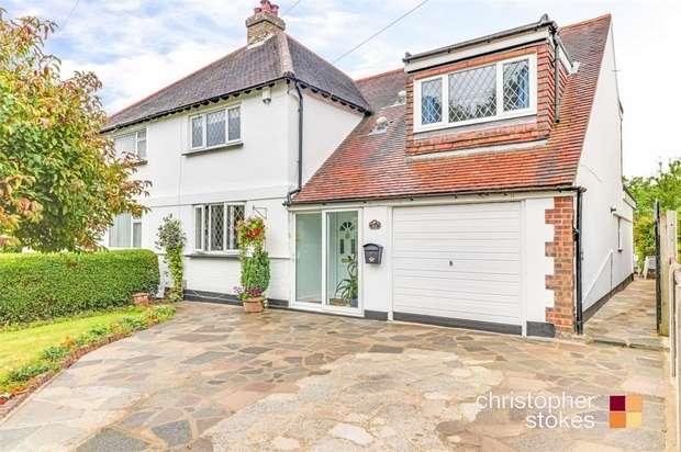 4 Bedrooms Semi Detached House for sale in Goffs Lane, Goffs Oak, Hertfordshire