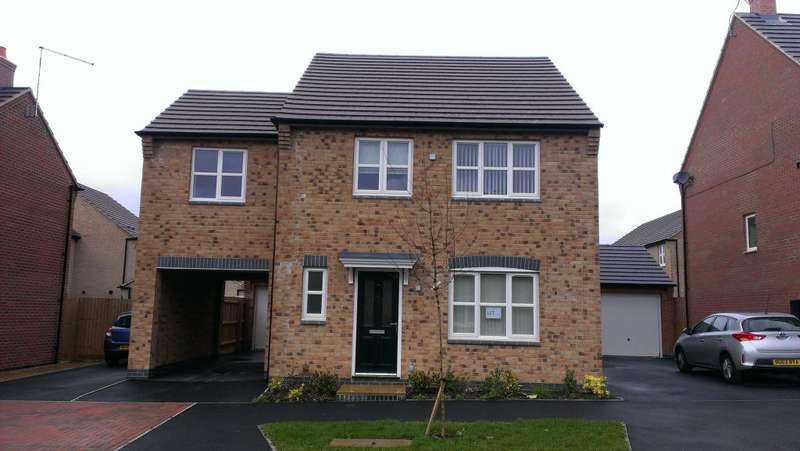 4 Bedrooms Detached House for rent in Anglian Way, Stoke, Coventry