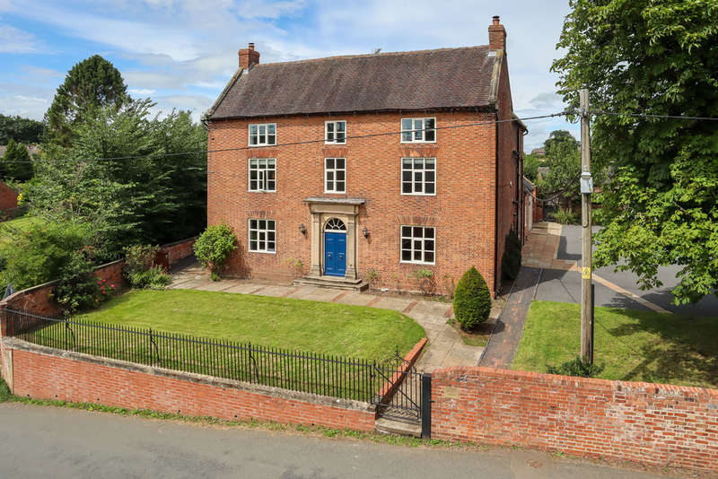 5 Bedrooms Detached House for sale in High Street, Marchington