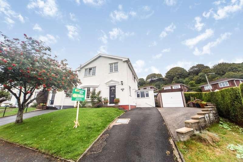4 Bedrooms Detached House for sale in Graigwen Parc, Pontypridd