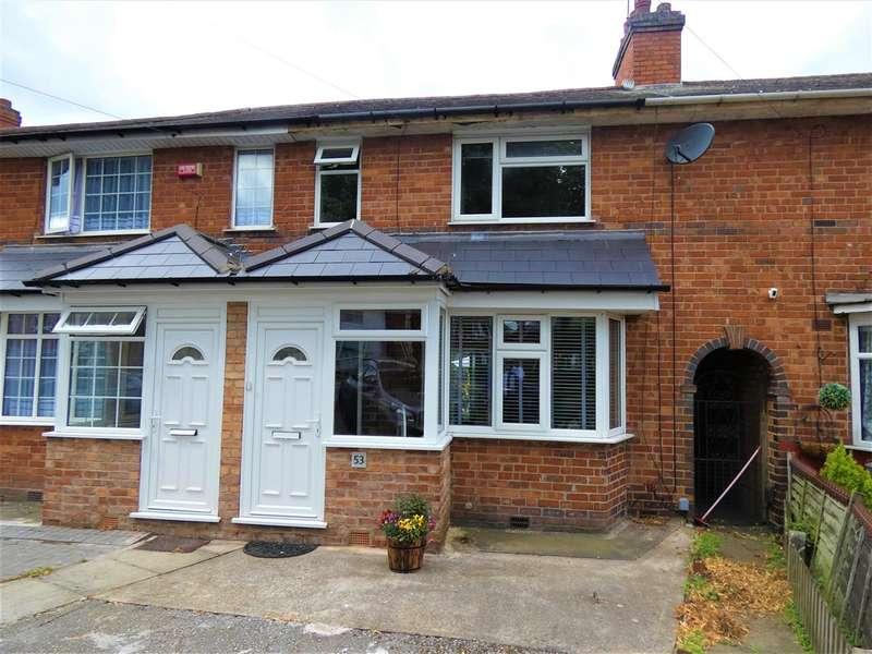 3 Bedrooms Terraced House for sale in Broadyates Road, Yardley, Birmingham