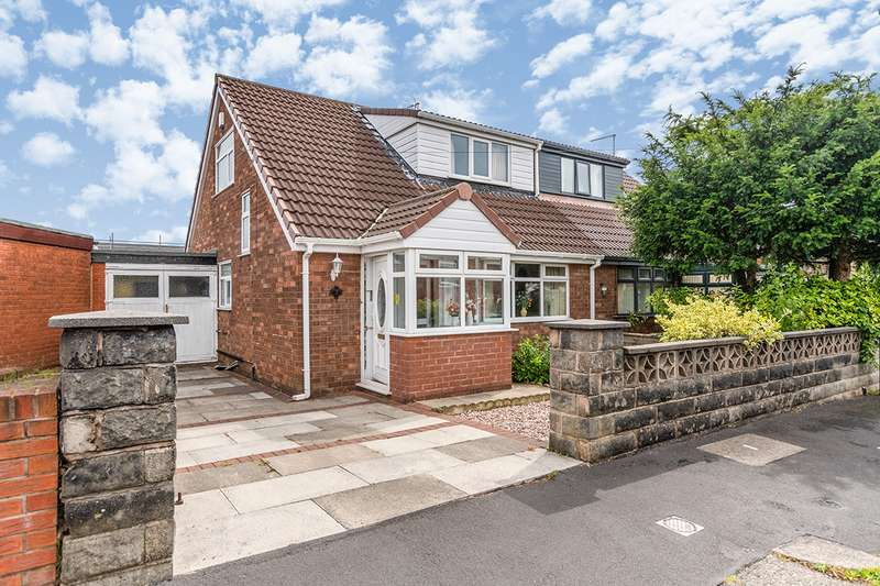 3 Bedrooms Semi Detached Bungalow for sale in Ansdell Road, Wigan, Greater Manchester, WN5