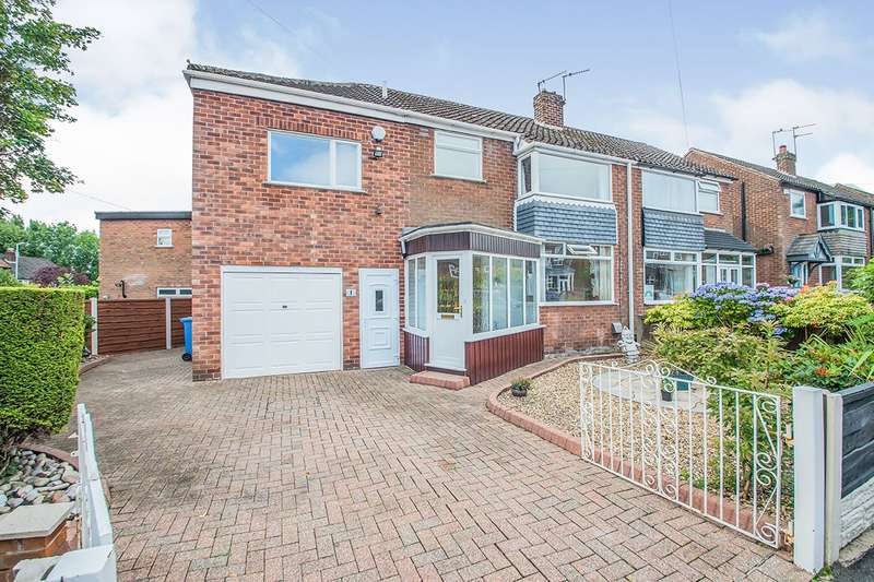 4 Bedrooms Semi Detached House for sale in Arlington Avenue, Swinton, M27