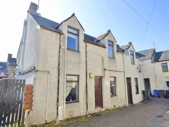 Semi Detached House for sale in High Street, Sanquhar, Dumfriesshire, DG4 6DT