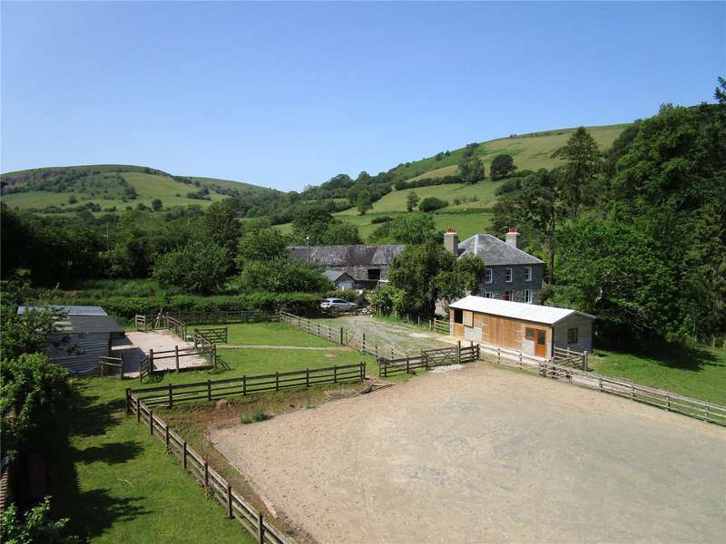5 Bedrooms Equestrian Facility Character Property for sale in Defynnog, Brecon, Powys, LD3 8YH