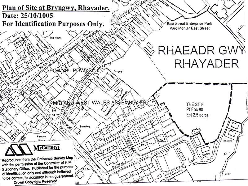 Plot Commercial for sale in Rhayader, Powys, LD6 5HH