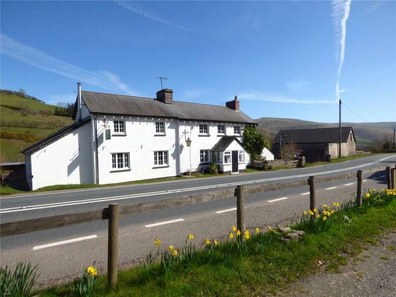 4 Bedrooms Detached House for sale in Pengenffordd, Talgarth, Brecon, Powys, LD3 0EP