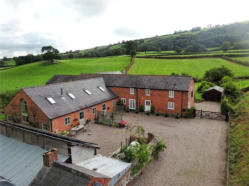 3 Bedrooms Barn Conversion Character Property for sale in Kerry, Newtown, Powys, SY16 4EG