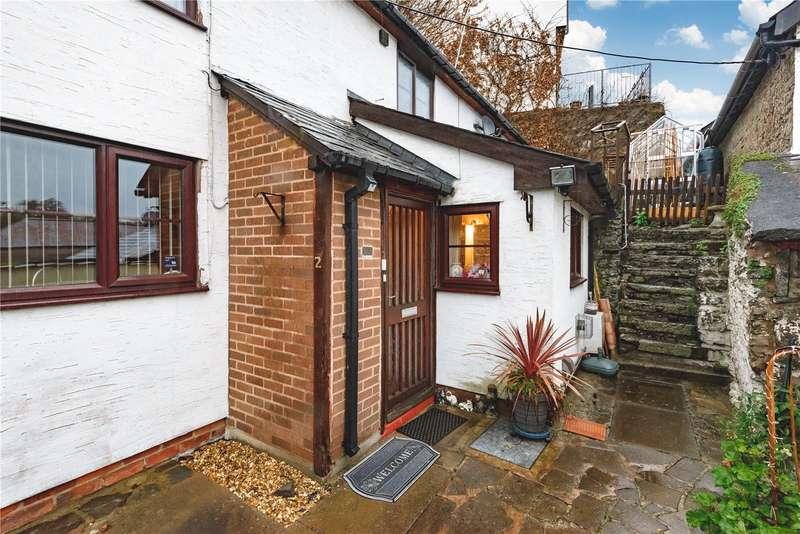 2 Bedrooms End Of Terrace House for sale in 2 George Road, Knighton, Powys, LD7 1HF