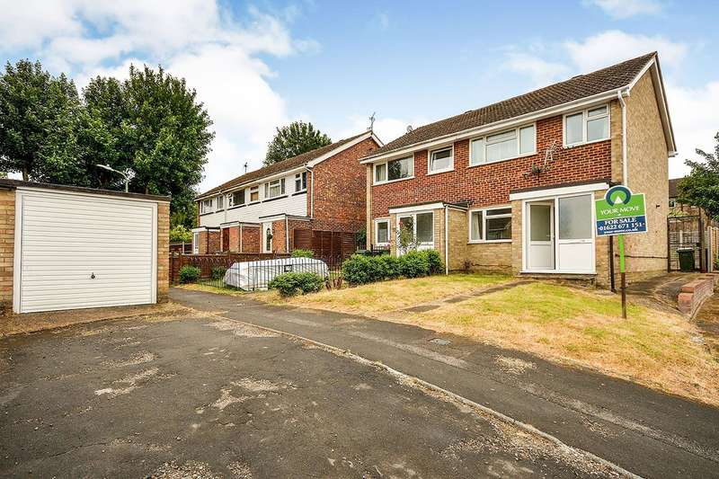 3 Bedrooms Semi Detached House for sale in Higham Close, Maidstone, Kent, ME15