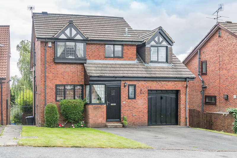 5 Bedrooms Detached House for sale in Hillcote Close, Fulwood