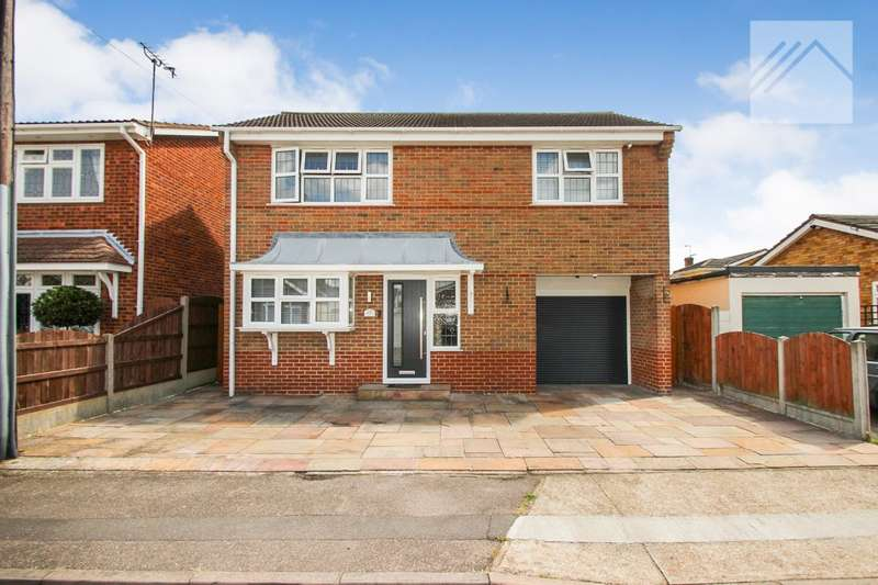 3 Bedrooms Detached House for sale in Gainsborough Avenue, Canvey Island